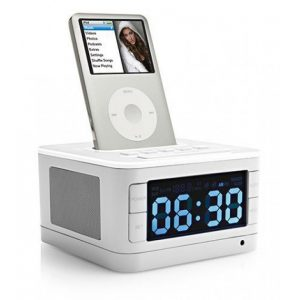 radiosveglia con docking station